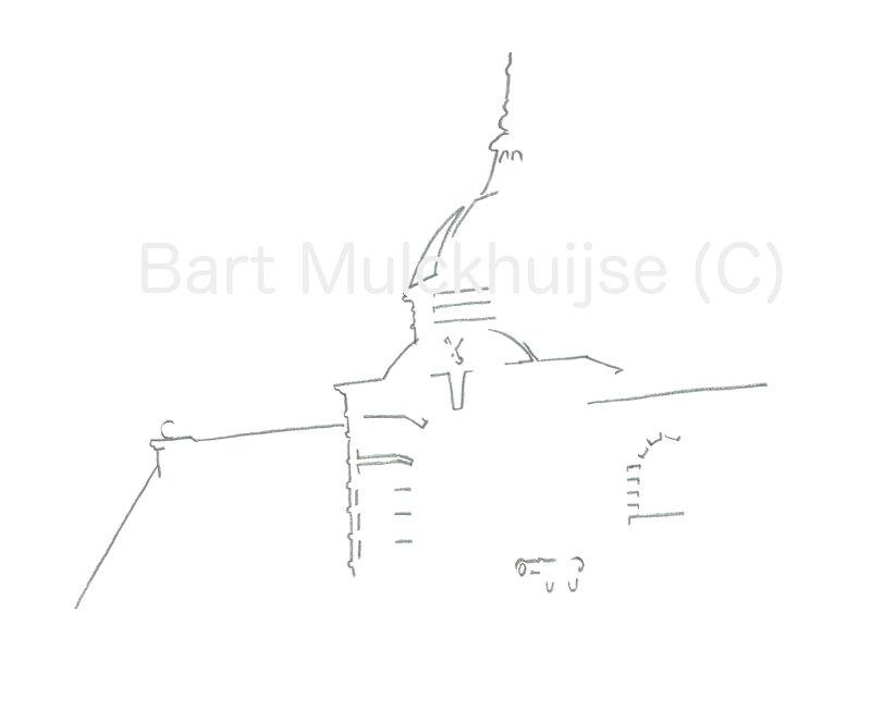 morspoort-city-gate-leiden-lines-bartwerk