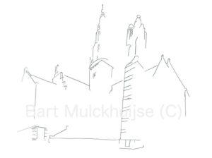 city-hall-leiden-lines-bartwerk
