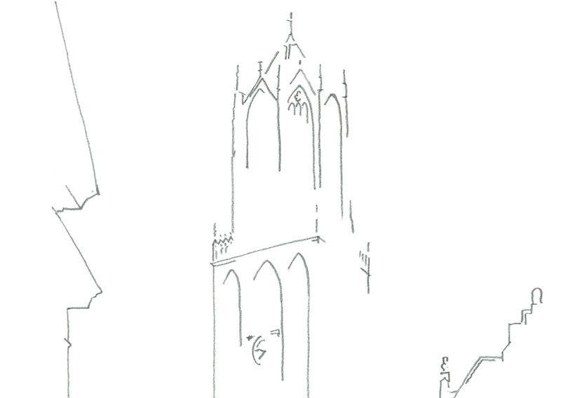 dom-utrecht-detail-line-drawing-bartwerk