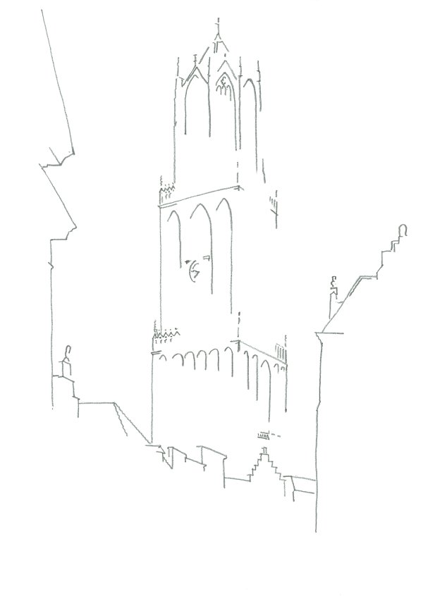 domtoren-line-drawing